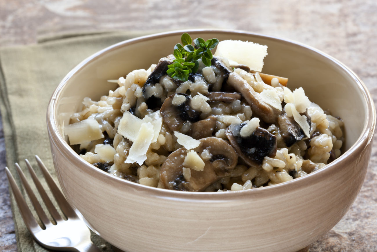 Comforting Mushroom Risotto Syn Free