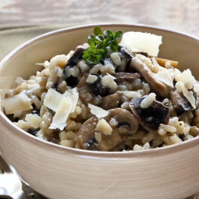 Comforting-Mushroom-Risotto-meal-idea-Healthy
