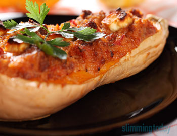 Delicious Stuffed Butternut Squash | Slimming World Inspired
