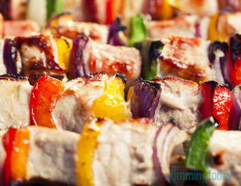 Pork Kebabs | Slimming World Inspired – Syn Free