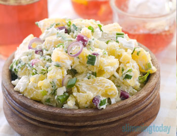 Potato & Feta Salad | Slimming World Inspired Syn Free