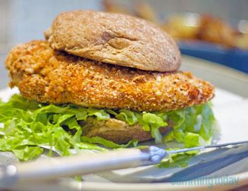 Slimming World KFC Style Chicken Fillet Burger