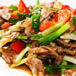Low Syn Beef in Black Bean Sauce