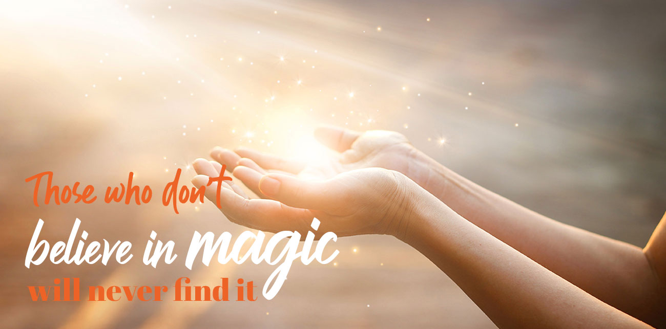 Believe in magic for you dream weight loss