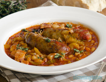 Syn Free Sausage Minestrone