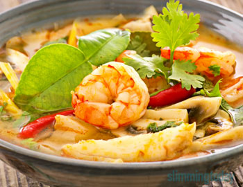 Low Syn Thai Red Prawn Curry