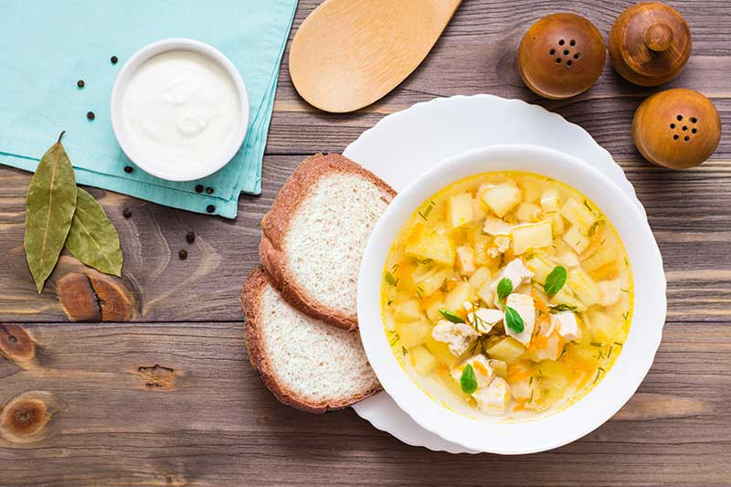 Syn Free Chicken and Vegetable Soup