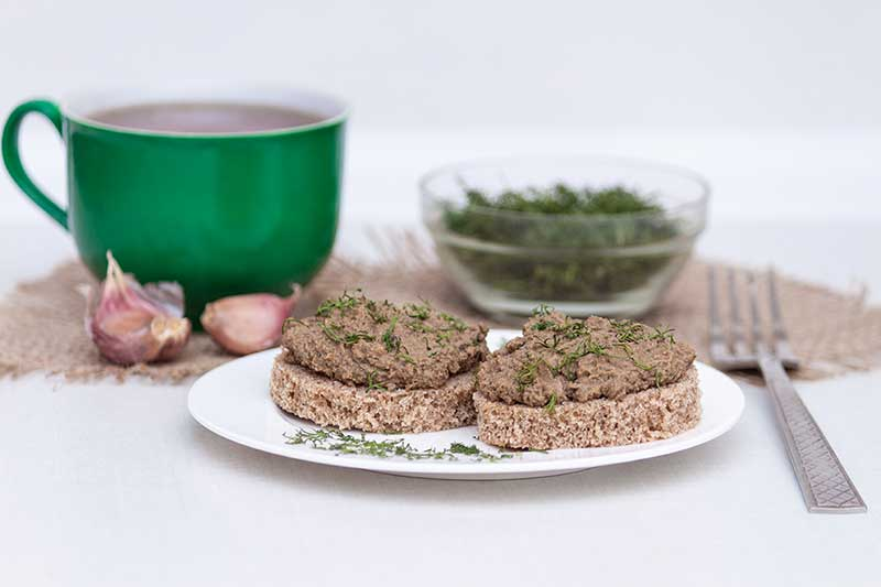 Syn Free Hot Smoked Trout and Dill Pate