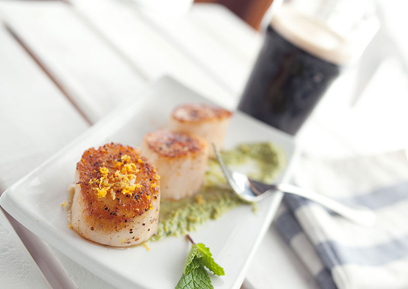 Syn Free Pan-seared Scallop Salad