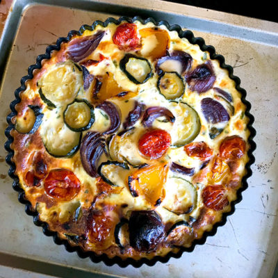 Syn Free Roasted Vegetable Quiche
