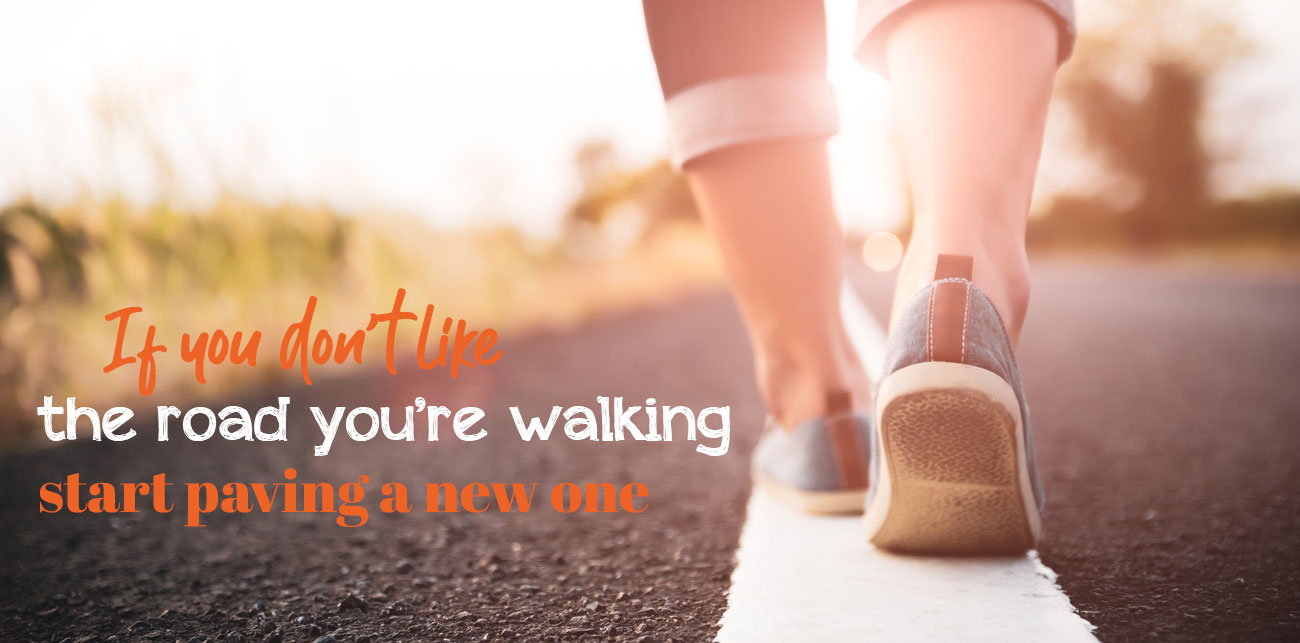 Walking a new road - The road to slimming Success