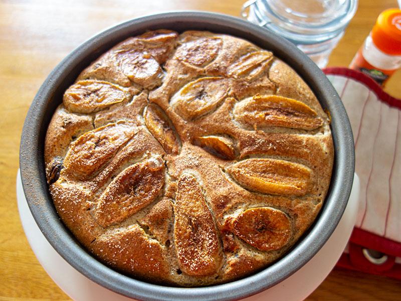 Banana Weetabix Cake