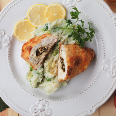 Syn Free Chicken Kiev