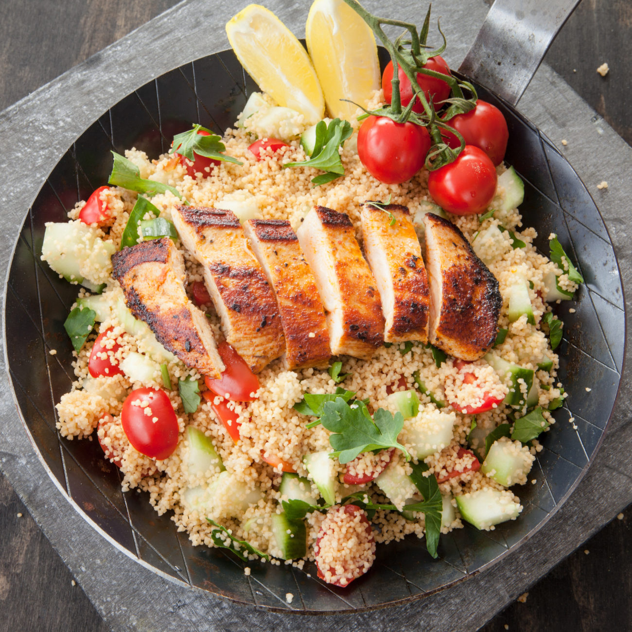 Delicious One Pot Chicken with Couscous