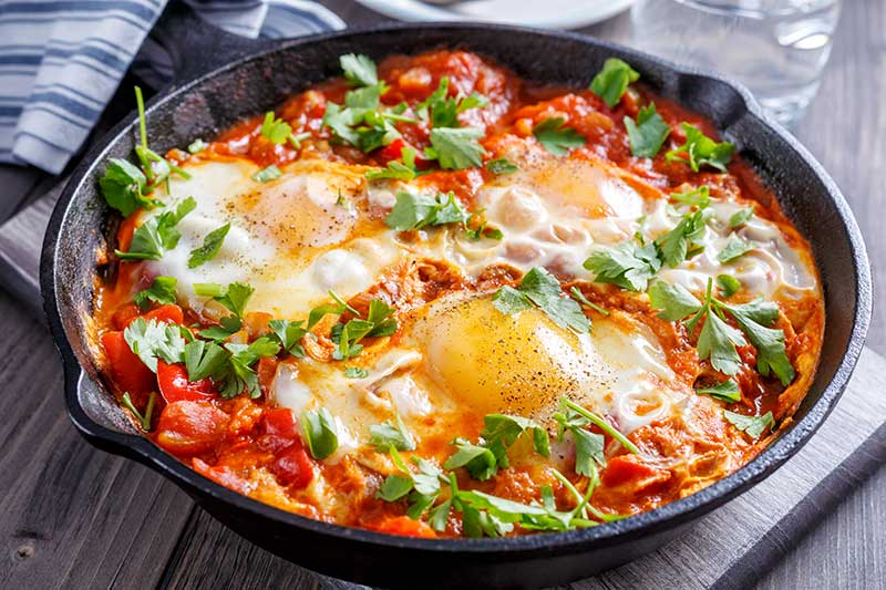 Sensational Shakshuka Breakfast Eggs