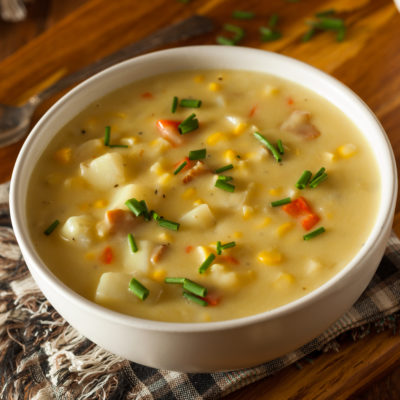 Slow Cooker Sweetcorn Chowder