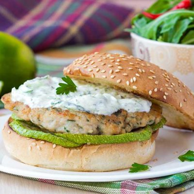 Healthy Burgers Very Skinny Tikka Turkey Burgers