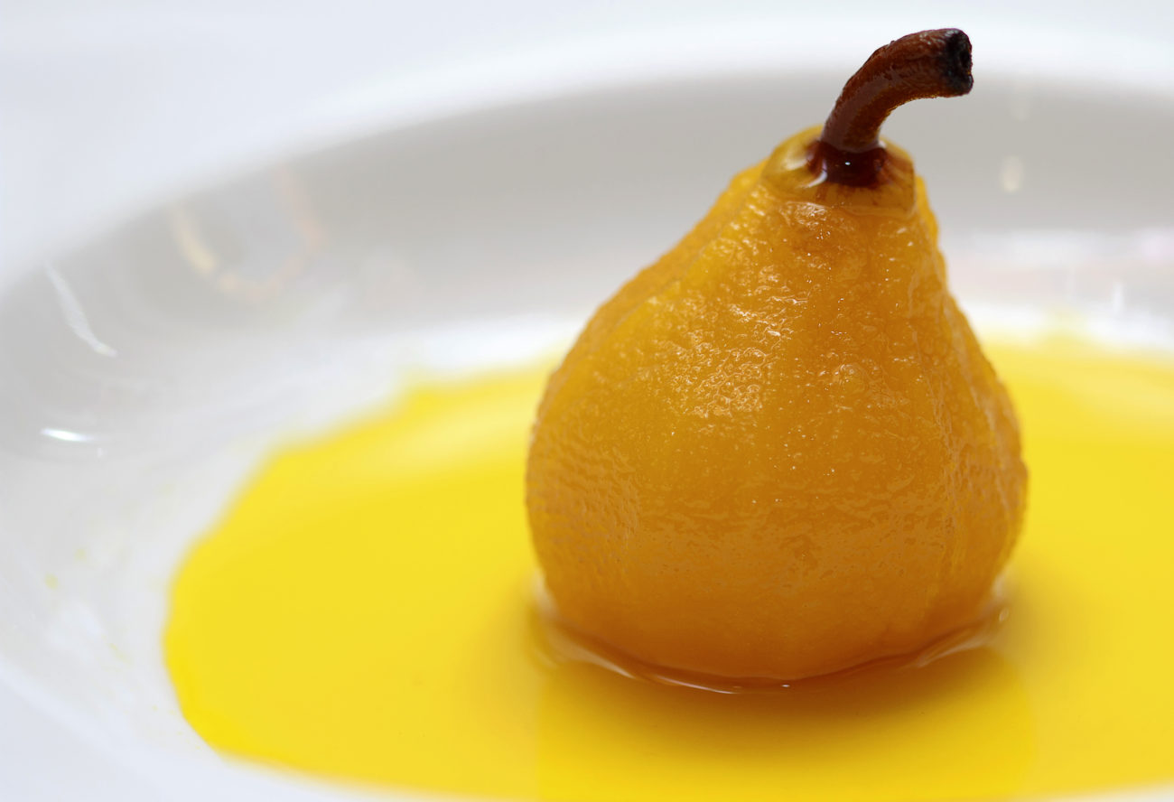 Low Syn Persian Poached Pears