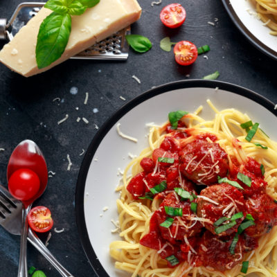 Pork Meatballs Pasta Meal Ideas Batch Budget Slimming World Recipes