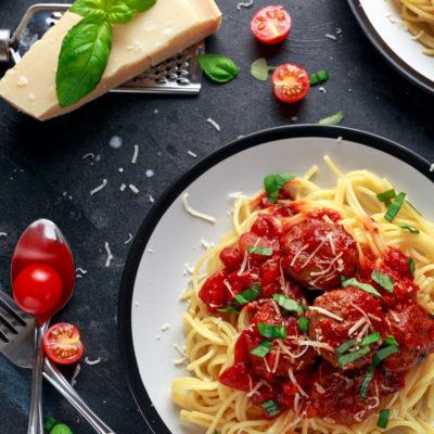 Pork Meatballs Pasta Meal Ideas Batch Budget Slimming World Recipes