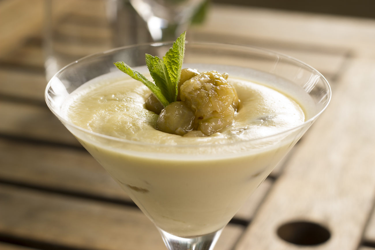 Refreshing Gooseberry Yogurt Fool