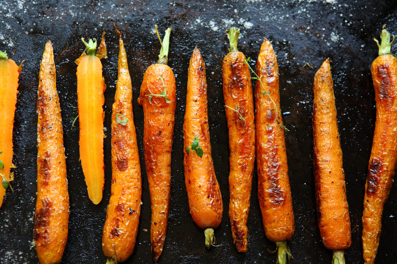 Syn Free Scrumptious Roasted Carrots | Christmas Dinner
