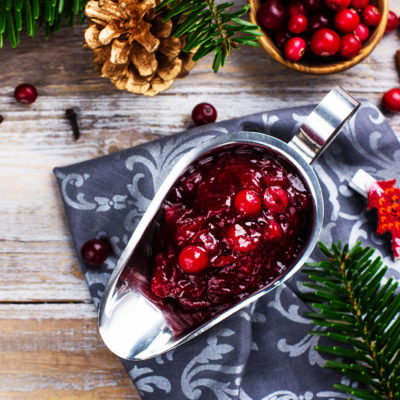 Lightest Cranberry Sauce