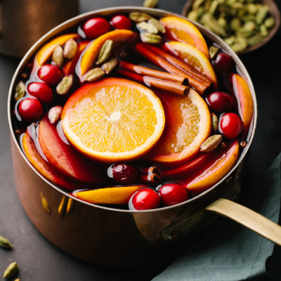 Spiced Mulled Wine - Slimming World