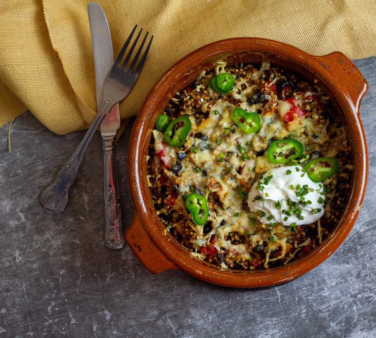 Syn Free Super Mexican Buckwheat Bake