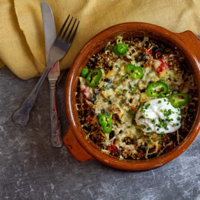 Slimming Mexican Buckwheat Bake
