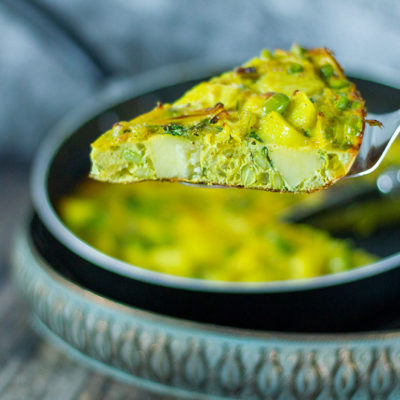 Onion Bhaji Tortilla - Slimming Today