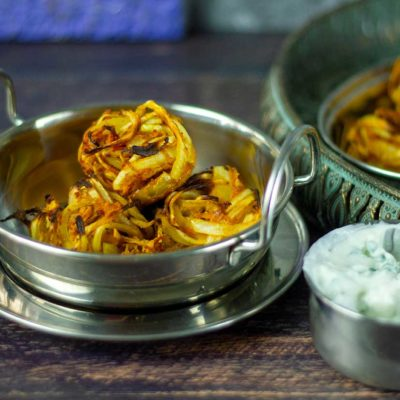 Slimming World Syn Free Onion Bhajis recipe